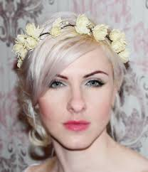 bridal headband wedding hair accessories flower bridal hair