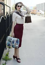 Best 25 Modern 50s Fashion Ideas On Pinterest Style Day Outfits