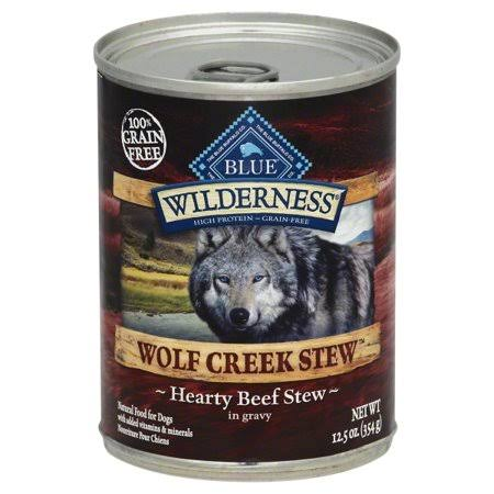 Blue Buffalo Wilderness Canned Dog Food - Wolf Creek Stew