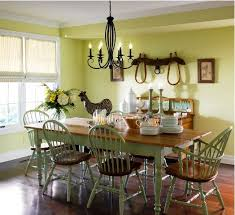 yellow country dining room idea ideas for country dining room