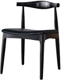 xjyz massivholz stühle esszimmer wohnzimmer stuhl kunstleder