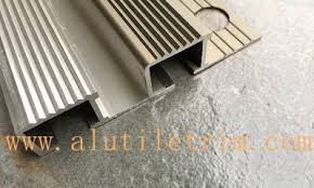Wood Stair Nosing For Tile by Aluminum Tile Trim Profile U0026finished Products