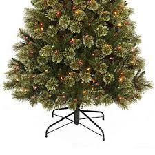 7 Foot Pre Lit Clearwater Slim Cashmere Tree With 500 Multi Color Lights 1