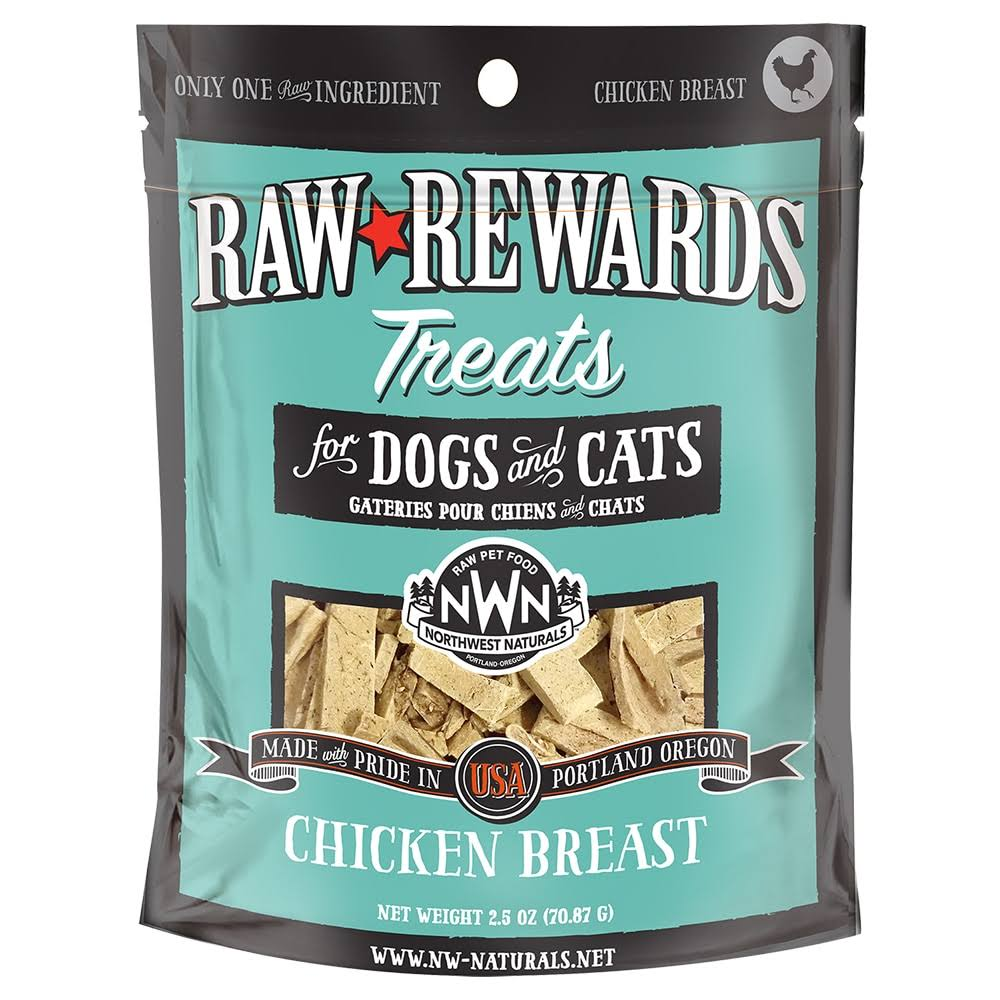 Northwest Naturals Raw Rewards Freeze Dried Chicken Breast Cat & Dog T