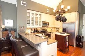 Kitchen And Dining Room Design To Inspired For Your House Cool Small Combined With Diy Hanging Lamps Brown Floor