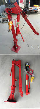 100 Pickup Truck Crane Electric Winch Mini Pure Copper Motor 12