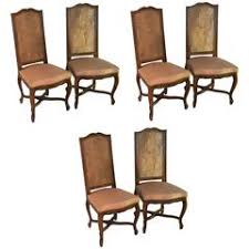 French Dining Room Sets by Set Of Six Side French Dining Room Chairs Style Of Linke For Sale