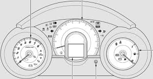 Malfunction Indicator Lamp Honda Fit by Honda Jazz Mk2 Dash Warning Lights