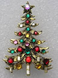 Christmas Tree Books Pinterest by Vintage 1960s Hollycraft Christmas Tree Pin By Jimrabun On Etsy