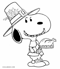 Crafty Inspiration A Charlie Brown Thanksgiving Coloring Pages Printable Snoopy For Kids Cool2bKids Pdf