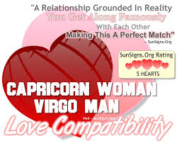 capricorn woman and virgo man a grounded and perfect match sun