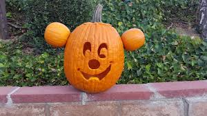 Minnie Mouse Painted Pumpkin by How To Make Mickey Mouse Jack O Lantern Youtube
