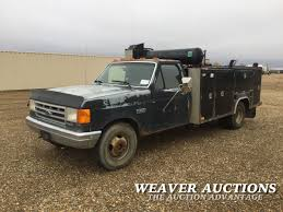 100 Ford Service Truck 1991 FORD F350 SERVICE TRUCK