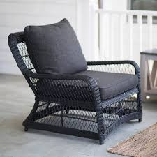 Object Of Desire: Classic Black Wicker Furniture - Gardenista 3pc Black Rocker Wicker Chair Set With Steel Blue Cushion Buy Stackable 2 Seater Rattan Outdoor Patio Blackgrey Bargainpluscomau Best Choice Products 4pc Garden Fniture Sofa 4piece Chairs Table Garden Fniture Set Lissabon 61 With Protective Cover Blackbrown Temani Amazonia Atlantic 2piece Bradley Synthetic Armchair Light Grey Cushions Msoon In Trendy For Ding Fabric Tasures Folding Chairrattan Chairhigh Back Product Intertional Caravan Barcelona Square Of Six