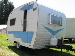 100 Restored Retro Campers For Sale Graphics Paint Color With Silver Outlining Vintage Campers