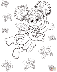 Cool Bert And Ernie Coloring Page