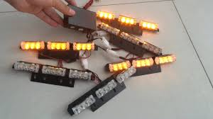 100 Strobe Light For Trucks 54 LED Car Vehicle Truck S Bars Deck Dash Grille