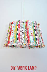 DIY Hanging Lamp With The Colour Scheme If Room
