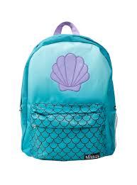 Disney Little Mermaid Bathroom Accessories by Loungefly Disney The Little Mermaid Ariel Cosplay Backpack Topic