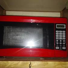 Rival 07 Cu Ft Digital Microwave Oven White