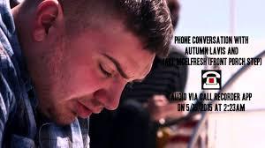 Front Porch Step Phone Conversation With Ex Girlfriend 5 15 15