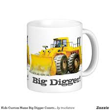Kids Custom Name Big Digger Construction Truck Coffee Mug ... Truck Parts Names Rc Cstruction Toy Trucks Best Toys For Kids City Us Preschool Theme Acvities Activity Guide Goodnight Site Mighty Github Tkrabbitelasticsearchdump Import And Export Tools 012 Months Baby List Qingdao Wheelbarrow Home Garden 5009 200kg 75l Used Thunder Creek Vh Inc Official Market Gm Fleet C Is Action Rhyme Emergency Vehicles Learning
