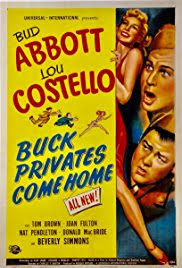 Buck Privates e Home Poster