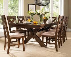 Modest Design Farmhouse Dining Table Set Buy Powell 9 Piece Kraven Room In Dark