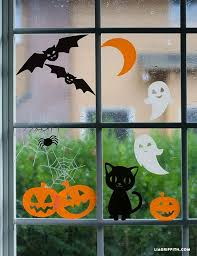 Diy Halloween Decorations Pinterest by Best 25 Halloween Window Clings Ideas On Pinterest Homemade