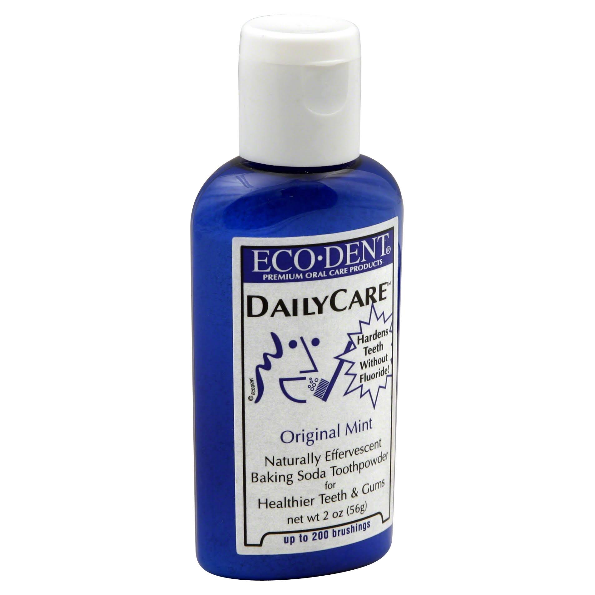 Eco-Dent Dailycare Toothpowder - Mint, 56g