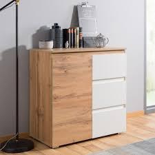 kommode imke 2 honigeiche 80x80x40 cm sideboard schrank wohnzimmer