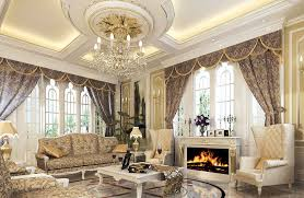 Interior Divine Luxury Pop False Ceiling Decoration For Living Room Ideas With Classic Furniture And Gas Fireplace Also Soft Lighting Find