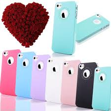 THIN HARD CUTE HEART LOVE CASE FOR APPLE iPHONE 5S 5 & iPHONE 4 4S