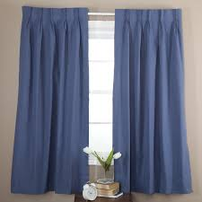 Nicole Miller Home Chevron Curtains by How To Install Blue Curtain In Your Home Decor Idolza