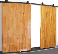 Large Sliding Butcher Block Non Warping Barn Doors Oversize ... Large Sliding Room Dividers Doors Lweight Barn Door Friendly Insulated High White Interior Closet The Home Depot 30 Designs And Ideas For The In X Everbilt Hdware Rollers Nonwarping Panted Honeycomb Panels Best 25 Diy Interior Barn Door Ideas On Pinterest Looks Simple And Elegant Lowes Rebecca