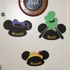 Cruise Door Decoration Ideas by Disney Cruise Door Decorations Fun Mickey Name Signs