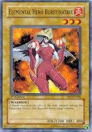 amazon com yu gi oh elemental hero burstinatrix ysd en008