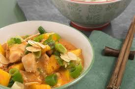 hähnchencurry mit mango