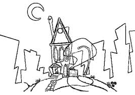 Space Goofs Coloring Pages House