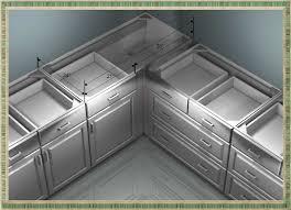 pine wood bright white raised door kitchen corner cabinet ideas