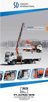 Roll Up Banner Sangdo International - Truck Mounted Cranes | PT ...
