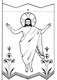 Coloring Pages Jesus Christ Resurrection Empty Tomb New