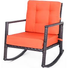 Amazon.com : HELLOLAND Patio Rattan Rocker Rocking Chair ... First Choice Lb Intertional White Resin Wicker Rocking Chairs Fniture Patio Front Porch Wooden Details About Folding Lawn Chair Outdoor Camping Deck Plastic Contoured Seat Gci Pod Rocker Collapsible Cheap For Find Swivel 20zjubspiderwebco On Stock Photo Image Of Rocking Hanover San Marino 3 Piece Bradley Slat