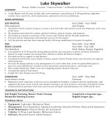 Let's Critique Luke Skywalker's Resume! | Resume To Interviews Resume Examples By Real People Butcher Sample 21 Inspiring Ux Designer Rumes And Why They Work Deans List On Overview Example Proscons Of Free Template Cover Letter Writing How To Write A Perfect Barista Included 52 Best Of Important Is A Software Developer Top Tips For Federal Topresume 50 College Student Templates Format Lab Rsum Cv Model With Single Page