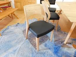 voglauer v cube living stuhl sehp55 wildeiche lederbezug designermöbel hohentengen