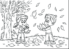 Free Printable Autumn Leaves Coloring Pages Magnificent Fall Kids Preschoolers Palm Leaf Pictures Book Full