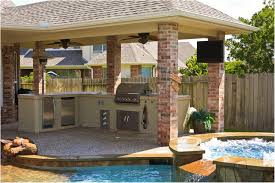 Backyard Designs With Pool And Outdoor Kitchen Glamorous Pictures ... 20 Outdoor Kitchen Design Ideas And Pictures Homes Backyard Designs All Home Top 15 Their Costs 24h Site Plans Cheap Hgtv Fire Pits San Antonio Tx Jeffs Beautiful Taste Cost Ultimate Pricing Guide Installitdirect Best 25 Kitchens Ideas On Pinterest Kitchen With Pool Designing The Perfect Cooking Station Covered Match With