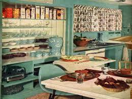 Retro Vintage 1950 Kitchen Decor 1950s Ideas