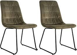 idimex esszimmerstuhl akita vintage look küchenstuhl stühle
