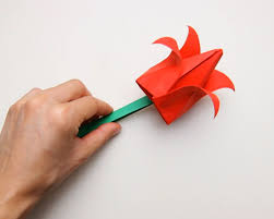 How To Make A Full Paper Tulip With Pictures